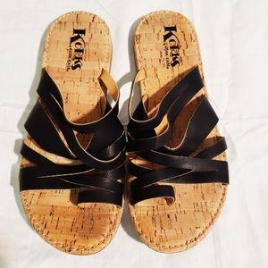 Korks by Kork-Ease Clemons Casual Sandals sz 8